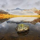 Blea Tarn in the Lake District by SteveBB
