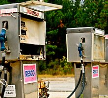 gas pumps by ashley hutchinson