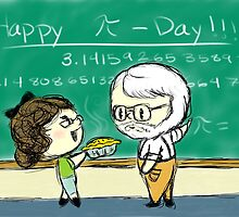 Happy Pi Day by InkSpot