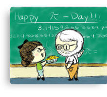 Happy Pi Day Canvas Print