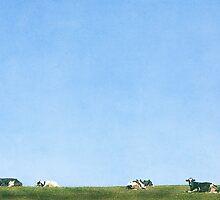 Cow Love by jenndiguglielmo