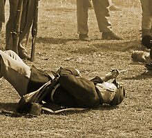 Casualties in sepia by Larry  Grayam