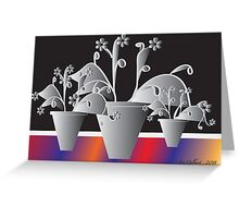 Another Pot of Flowers Greeting Card