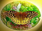 Digital Butterfly - Great Spangled Fritillary by MotherNature