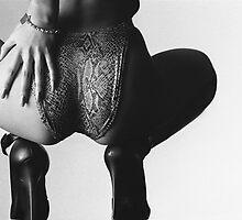 Black Stilleto Heels by Julian Wilde