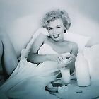 BREAKFAST WITH MARILYN 5 by Tammera