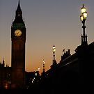 Big Ben Backlit by Themis