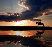 Horseback rading by Julia Shepeleva