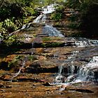 Katoomba Cascades Flow by jayneeldred