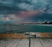 pink rain by Cliff Jackson