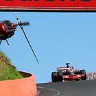 F1 Ace Jenson Button - Mt Panorama Bathurst by Dean Perkins