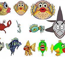 Ocean Food Group Cartoon by plunder