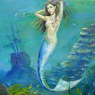 Mermaid of the Deep by dashinvaine