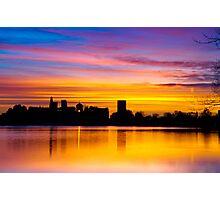 Painting The Sunrise Photographic Print