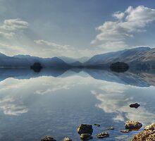 Derwentwater From Friars Crag by Jamie  Green
