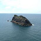 Cornish Seascape by puddingpiesjb