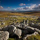 Distant Grassington by Andrew Leighton