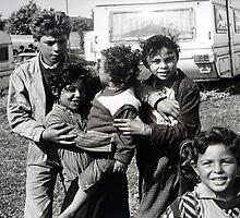 French Gypsy Children by Sue Nichol