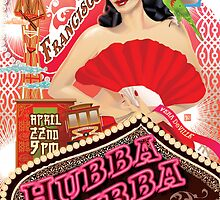 Poster for Hubba Hubba Revue:  San Francisco!  April, '11 by caseycastille