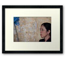 Elegant Woman Framed Print