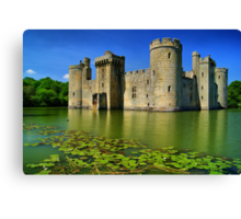 Bodiam Castle, East Sussex, England Canvas Print