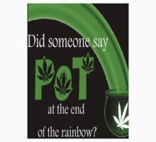 Pot at the end of the rainbow sticker by Autumn-Leann