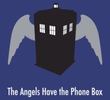 The Angels Have the Phone Box by digitalEMERALD
