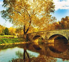 Burnside Bridge at Antietam by ©  Paul W. Faust