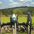Taking aim at the Union line by ©  Paul W. Faust