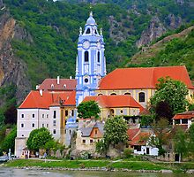 Danube River Wachau Valley Austria by Neville Gafen