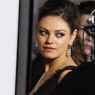 Mila Kunis  by loyaltyphoto