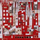 The Red Square by Ivonne Kennedy