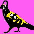 Pop Pigeon by Richard Butler