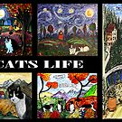 Its A Cats Life by Monica Engeler