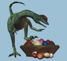 A Dino`s easter eggs Kids Clothes