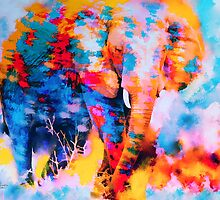 Elephant Impression by rosalin
