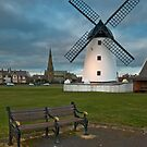 Windmill at Lytham St. Annes by Steve  Liptrot