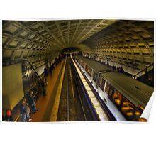 Washington D.C. Metro Poster