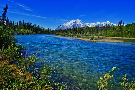 Kathleen River by Yukondick