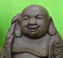 Happy Buddha by qbranchltd