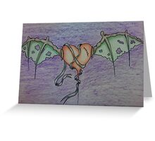 Try to mend a broken heart Greeting Card