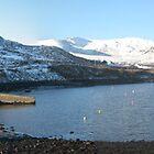 Teelin Pier in the Snow  by emcsphotos