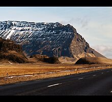 Ring Road - Near Eyjafjallajökull, Iceland by Matthew Kocin