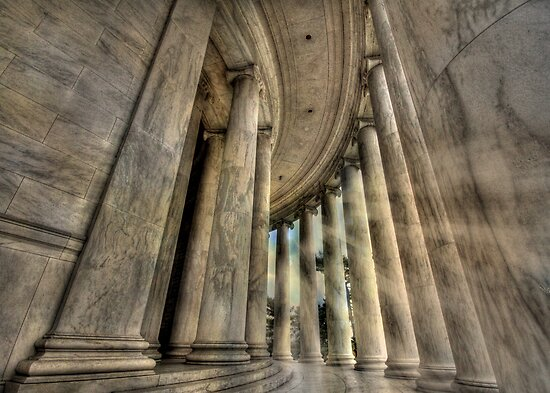 Pillars of Strength  by Lori Deiter