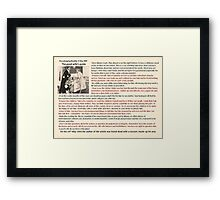 The Good Wife Guide Framed Print