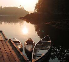 The Morning Voyage Awaits by garthglaz