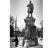 Statues Photographic Print
