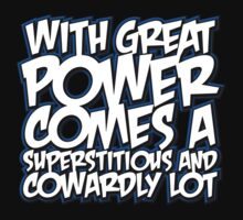 With Great Power Kids Clothes