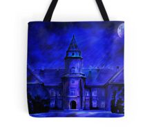 Winter Castle Tote Bag