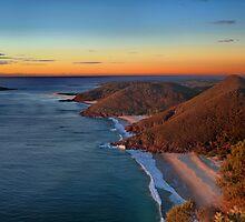 Tomaree Headland by Tainia Finlay